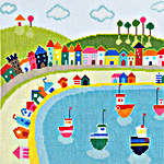 Click for more details of Beside the Seaside - Beach Huts (cross-stitch kit) by Bothy Threads