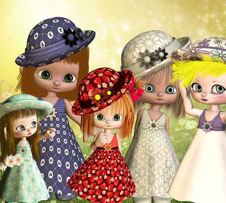 Click for more details of Best Bonnets 1 (digital downloads) by DawnsDesigns