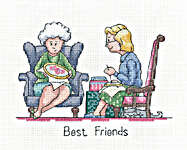 Click for more details of Best Friends (cross stitch) by Peter Underhill