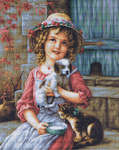 Click for more details of Best of Friends (cross stitch) by Luca - S