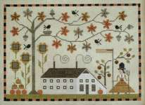 Click for more details of Betsy's Autumn (cross stitch) by Plum Street Samplers