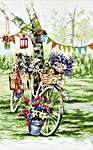 Click for more details of Bike (cross stitch) by Letistitch