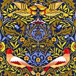 Click for more details of Bird by William Morris (cross stitch) by Bothy Threads