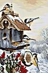 Click for more details of Bird House (cross stitch) by Luca - S