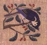 Click for more details of Birds and Berries (cross stitch) by The Prairie Schooler