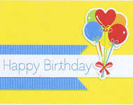 Click for more details of Birthday Boy Card Kit (paper craft kits and album kits) by Fundamentals