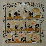 Click for more details of Black Cat Hollow (cross stitch) by Barbara Ana Designs