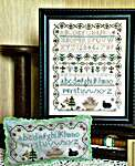 Click for more details of Black Sheep Sampler (cross stitch) by From The Heart