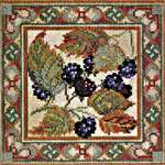 Click for more details of Blackberry (tapestry) by Rose Swalwell