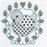 Click for more details of Blackwork Easter Designs (blackwork) by Lesley Teare