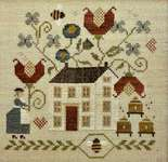 Click for more details of Blessed Bee (cross stitch) by With Thy Needle and Thread