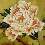 Click for more details of Blooming Peony II (no-count cross stitch) by Needleart World