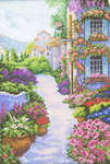 Click for more details of Blooming Town (cross stitch) by RTO