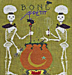 Click for more details of Bone Appetit (cross-stitch pattern) by The Cross-Eyed Cricket