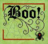 Click for more details of Boo Elegance (cross stitch) by Glendon Place