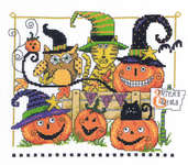 Click for more details of Boo Friends (cross stitch) by Imaginating