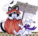 Click for more details of Boowitching Halloween (cross-stitch pattern) by Stoney Creek