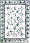 Click for more details of Bordered Alphabet (cross stitch) by Thea Gouverneur