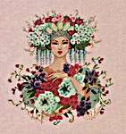 Click for more details of Botanical Garden (cross stitch) by Mirabilia Designs