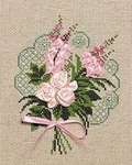 Click for more details of Bouquet of Tenderness (ribbon embroidery) by Riolis