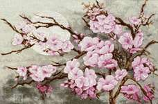 Click for more details of Branch of Sakura (cross stitch) by Golden Fleece