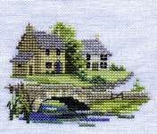 Click for more details of Brookside (cross stitch) by Rose Swalwell