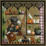 Click for more details of Broom Closet (cross stitch) by Shannon Christine