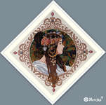 Click for more details of Brunette  (cross stitch) by Merejka