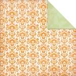 Click for more details of Bubblegum Hills Orange Pop 12x12in Scrapbook Paper (paper) by Kaisercraft