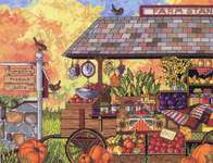 Click for more details of Buck's Country Farm Stand (cross stitch) by Janlynn