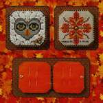 Click for more details of Bumble & Hoot Needle Book - Pattern and Embellishment (cross stitch) by Just Nan Inc