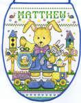 Bunny Boy Easter Egg Bag