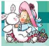 Click for more details of Bunny Kisses (stamps) by Penny Black