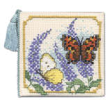 Click for more details of Butterflies and Buddleia Needlecase (cross stitch) by Textile Heritage