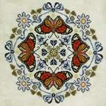 Click for more details of Butterfly Bliss (cross stitch) by The Blackberry Rabbit