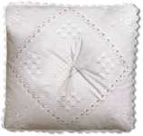 Click for more details of Butterfly Hardanger Pillow (hardanger) by Princesse