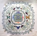 Click for more details of Butterfly Lace Mandala (cross stitch) by Chatelaine