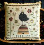 Click for more details of Buzz Off (cross stitch) by Plum Street Samplers