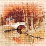 Click for more details of By the Canal (cross stitch) by John Clayton