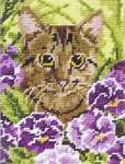 Click for more details of Cat (tapestry) by Anchor