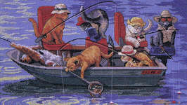 Click for more details of Catch of the Day (cross-stitch pattern) by Dimensions