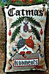 Click for more details of Catmas (cross stitch) by Fairy Wool in The Wood