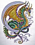 Click for more details of Celestial Dragon (cross stitch) by Design Works
