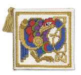 Click for more details of Celtic Bird Needlecase (cross stitch) by Textile Heritage