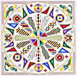 Click for more details of Celtic Creation (cross stitch) by Mike Vickery