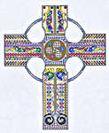 Click for more details of Celtic Cross II (cross-stitch pattern) by Mike Vickery