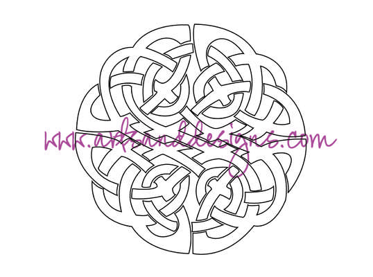 Click for more details of Celtic Knot Digital Stamp (digital downloads) by Julie Lynes
