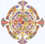 Click for more details of Celtic Medallion (cross-stitch pattern) by Mike Vickery