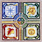 Click for more details of Celtic Seasons (cross-stitch pattern) by Mike Vickery