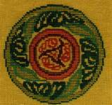 Click for more details of Cercle Celtique   (Celtic Circle) (cross stitch) by Nimue Fee Main